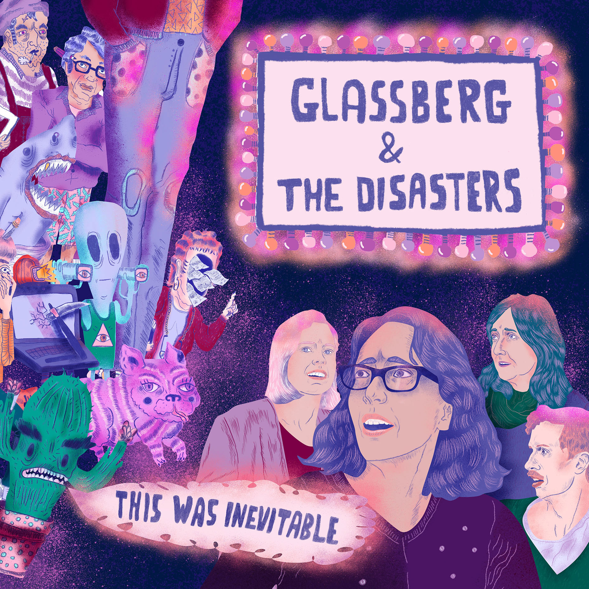 Glassberg & The Disasters Album Art