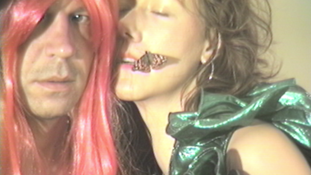 Johnny Dydo of the Johns and video artist Erica Schreiner